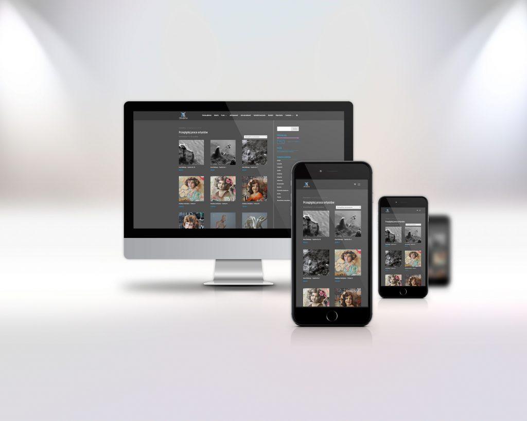drabinasztukimlodej.pl - prezentacja wersji na różne urządzenia