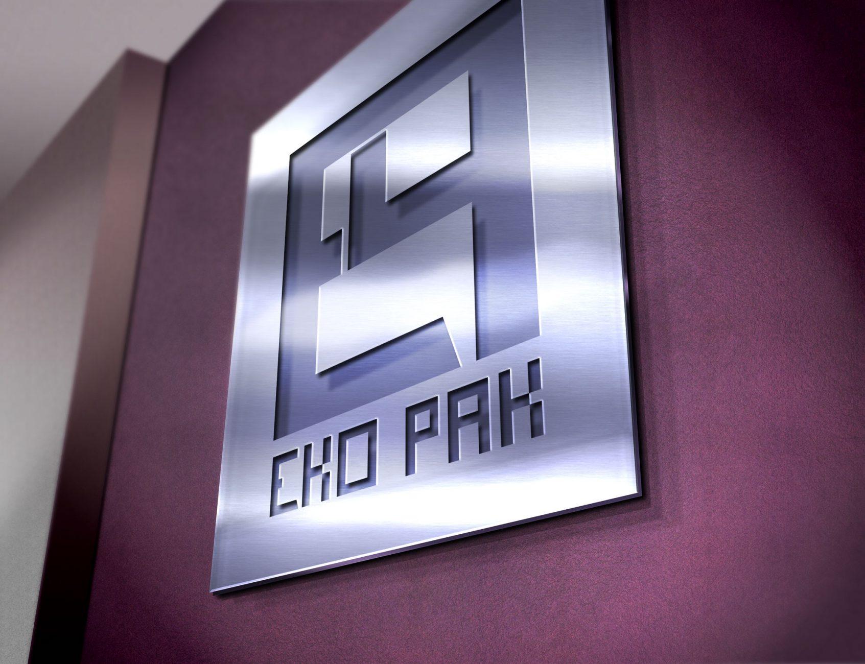 Logo zaprojektowane dla firmy EKO-PAK