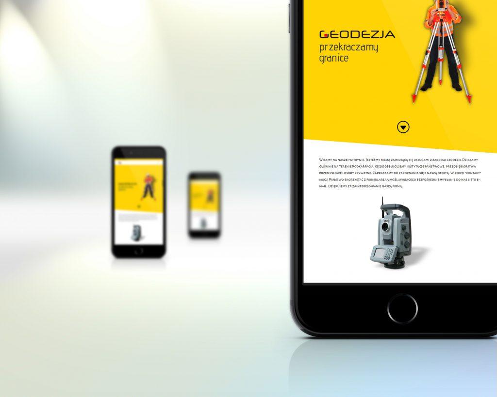 geodezja.info - wersja strony na urządzenia mobilne