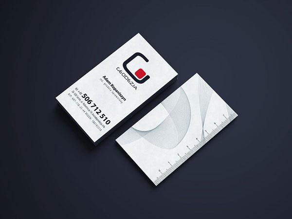projekty drukowane, wizytówki firmowe