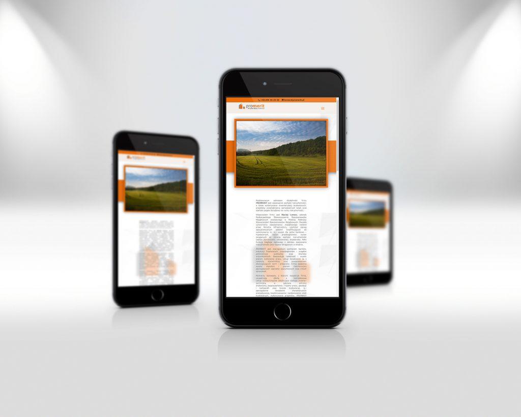 promerit.pl - wersja witryny na urządzenia mobilne