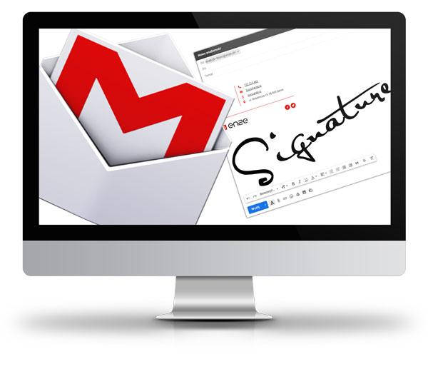 usługi dodatkowe, sygnatura wiadomości e-mail