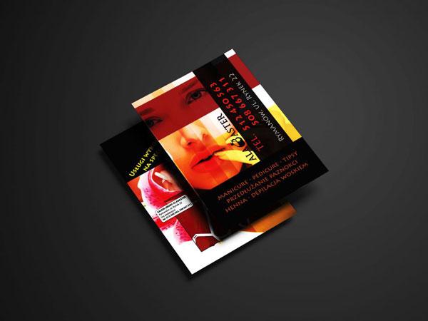 projekty drukowane, banery i ulotki