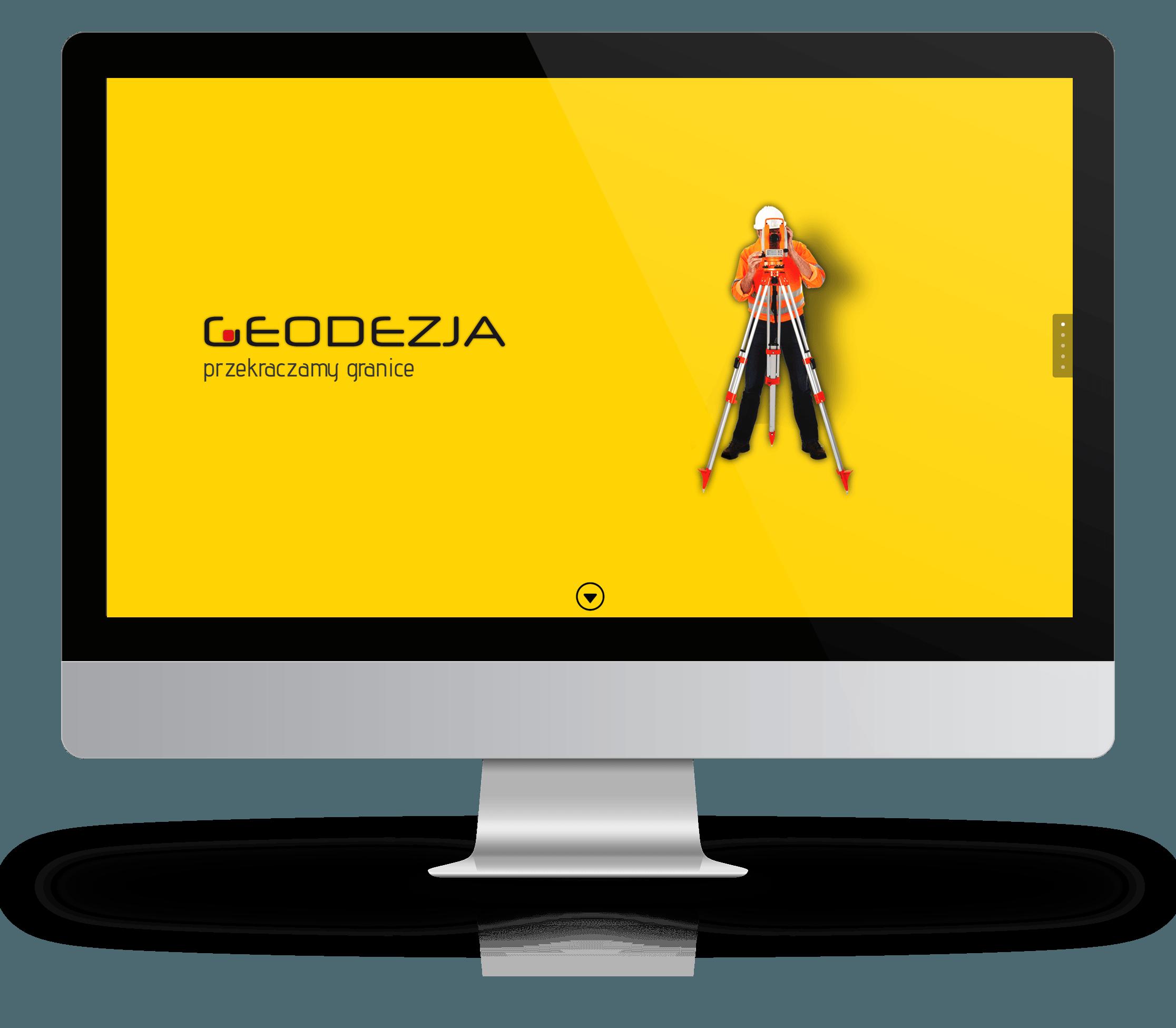 Projekt strony: geodezja.info
