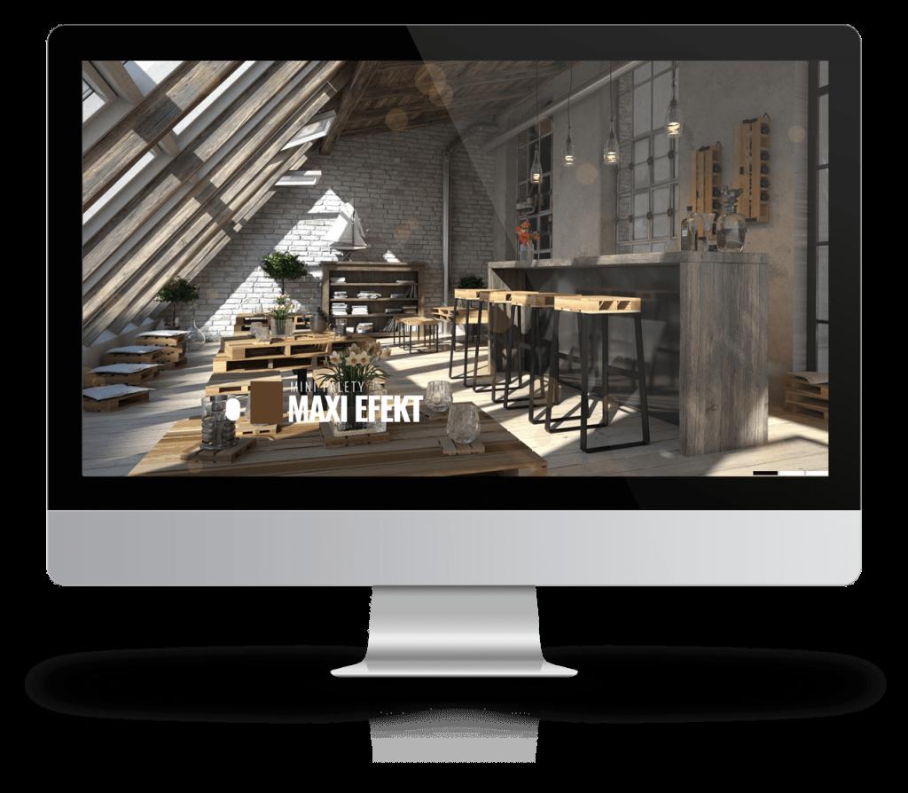 Projekt strony: PaletteDesign.pl