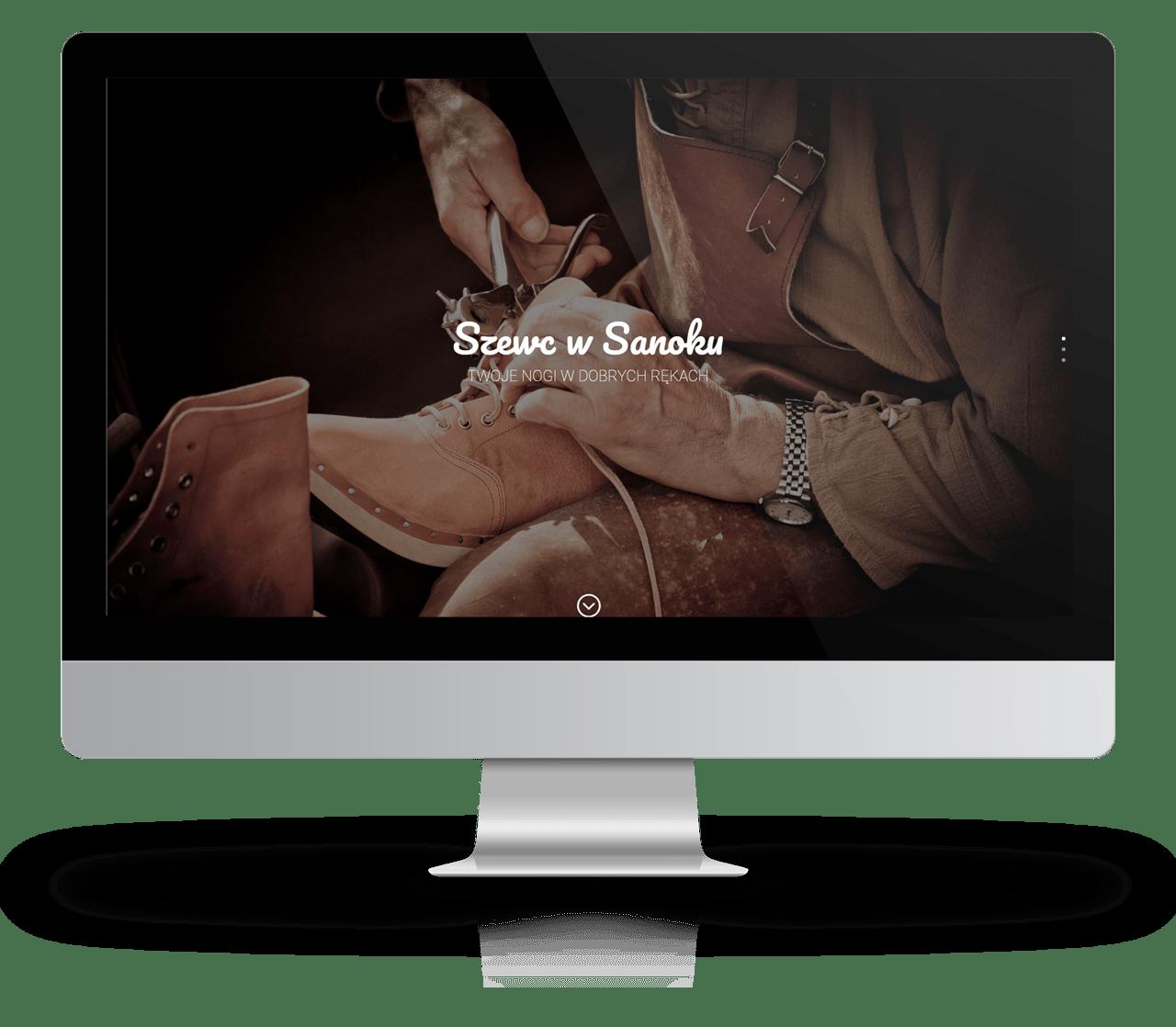 Projekt strony: szewc.sanok.pl
