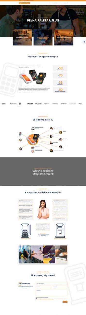 TerminalPlatniczy.info.pl, strona internetowa wykonana przez enze.pl