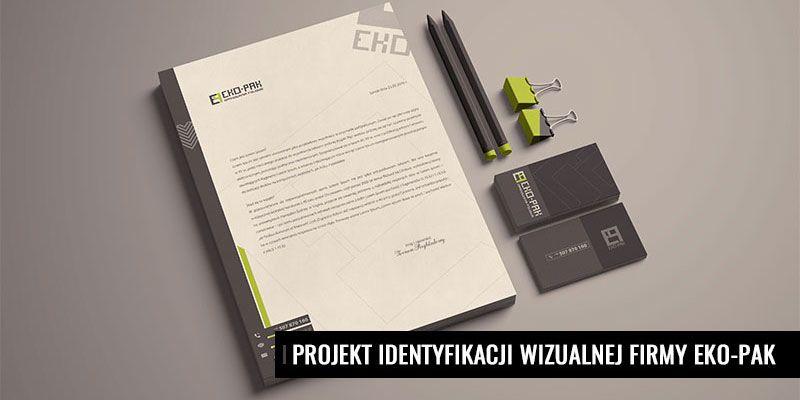 Projekt identyfikacji wizualnej firmy