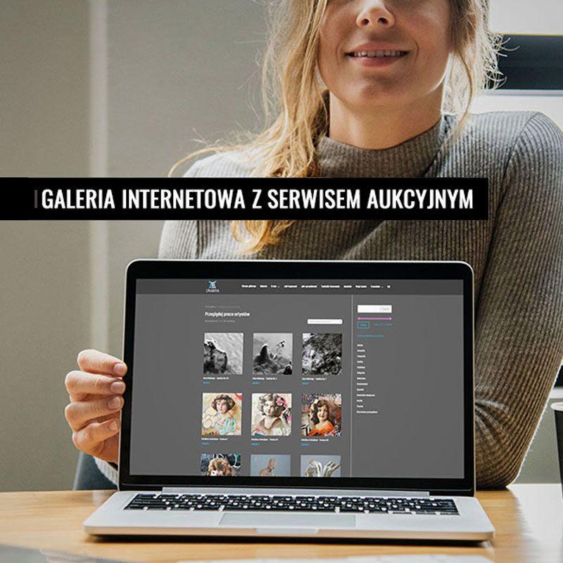 Galeria internetowa z serwisem aukcyjnym